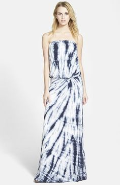 Young, Fabulous & Broke 'Sydney' Strapless Maxi Dress available at #Nordstrom