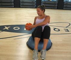 I LOVE the BOSU ball...definitely going to try these moves this week