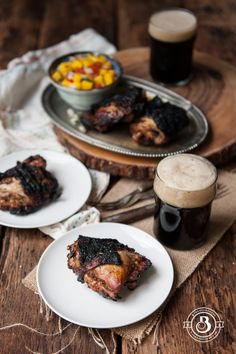 Grilled Stout Jamaican Jerk Chicken