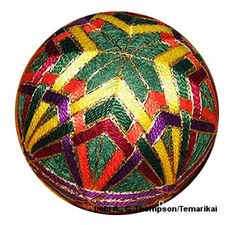 Temari Pattern DA06 on TemariKai.com