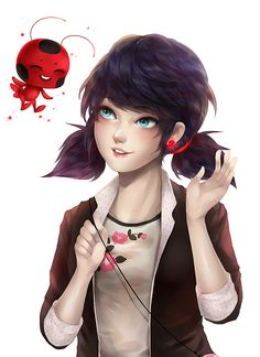 Miraculous Tales Of Ladybug And Cat Noir - Marinette and Tikki