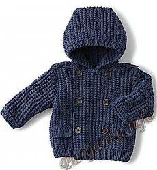 Пальто (д) 2993 Phildar