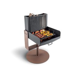 Design Barbecue, Grill Design, Barbecue Grill, Camping Fire Pit, Diy Fire Pit, Balcony Grill, Bbq Table, Welded Furniture, Outdoor Stove