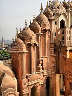 'Hawa-Mahal', Jaipur, Rajasthan, India