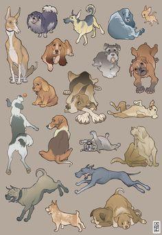 Canine study by *TorqueArtStudio on deviantART