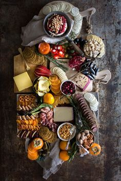 How to Build the Ultimate Sweet and Savory Charcuterie Board /