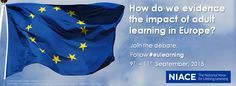 Join in with our tweets from our European Agenda for Adult Learning conference - follow #eulearning now until Friday