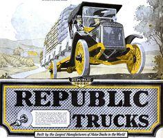 1919 Republic Truck