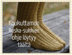 ruska_sukkaohje Socks, Sock, Stockings, Boot Socks, Hosiery