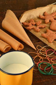 niebo na talerzu: Jak zrobic lukier i jak dekorować pierniczki
