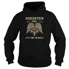 DOBERSTEIN Family Lifetime Member - Last Name, Surname TShirts