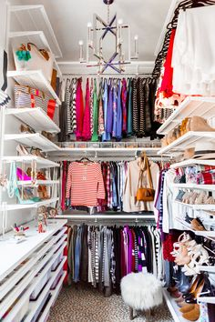15 Simple Tips to a Luxe Closet | Hi Sugarplum!