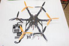 266.78$  Buy here - http://alia7n.worldwells.pw/go.php?t=32579710491 - DIY Drone Quadcopter Upgraded Full Kit HMF S550 9045 3-Propeller 6Axle Multi Hexacopter UFO RTF/ARF & 2-Axle Gimbal F08618-G 266.78$