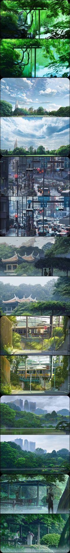/Nature/#1667352 - Zerochan | Kotonoha no Niwa (2013) | Makoto Shinkai