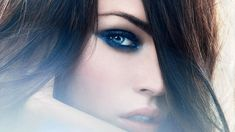 Actress blue eyes brunettes celebrity faces megan fox women widescreen desktop mobile iphone android hd wallpaper and desktop. Megan Fox Wallpaper, Eyes Wallpaper, Eyeshadow For Blue Eyes, Eyeshadow Looks, 10 Most Beautiful Women, Beautiful Eyes, Celebrity Faces, Frizzy Hair, Tips