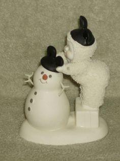 "Dept. 56 Snowbabies  ""Be Like Mickey Too Snowman"""
