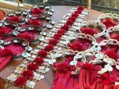 15 pieces of tambourine, 15 pieces of bridesmaid bracelet we prepared for Ayşenur Hanım 🌹 Bo Bridal Car, Wedding Car, Wedding Engagement, Wedding Gifts, Henna Party, Wedding Backdrop Design, Wedding Decorations, Turkish Wedding, Destination Wedding Welcome Bag