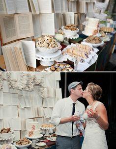 A fabulous dessert bar at a Vintage California Wedding: Ashley + Ian   Green Wedding Shoes Wedding Blog   Wedding Trends for Stylish + Creative Brides