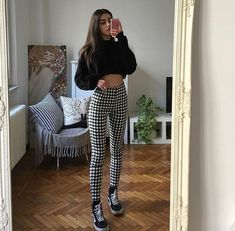 edgy outfits Which one? {link in bio to get these outfits} Hipster Outfits, Edgy Outfits, Fall Outfits, Summer Outfits, Korean Outfits, Hipster Clothing, Beach Outfits, Rock Outfits, Office Outfits