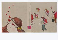 """Ilustración portada libro """"Cuentos para crecer"""" 2014 Por: Verónica Jimeno Valdepeñas"""