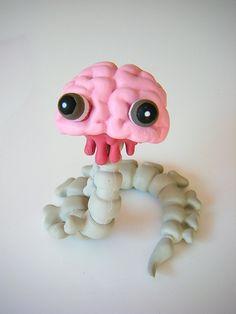 Brain-san  Artist: Junko Mizuno  Manufacturer: Kidrobot