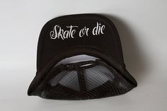 Roller Derby Brass Knuckles/ Skate or Die/ Trucker Hat