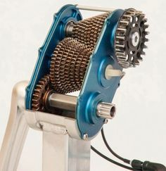 A look inside the Effigear gearbox