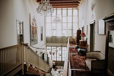 """Hochzeitslocation: die """"Mitte"""" mit Luster und Glasfront - Wein&Gut - Weingut Rathbauer Wedding Locations, Austria, Stairs, Home Decor, Wine, Stairway, Decoration Home, Room Decor, Staircases"""