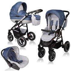 Carucior Crooner Prestige 3 in 1 Vessanti Blue - Copilul si Mama The Prestige, Baby Strollers, Children, Blue, Boys, Kids, Sons, Kids Part, Baby Prams