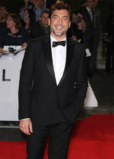 Javier Bardem looking fantastic in his Gucci eco-tux