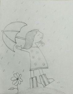 Drizzling of rain