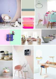 ANNY& Pastel Colours, Nice Things, Gallery Wall, Home Decor, Homemade Home Decor, Pastel Colors, Decoration Home, Interior Decorating
