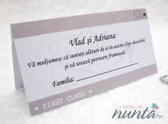 Plic de bani bilet de avion, potrivit pentru o nunta cu tematica Travel.