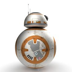 3d star wars bb 8 droid