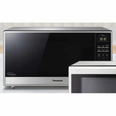 Panasonic Cu-Ft Stainless-Steel Microwave Oven with Cyclonic Wave Inverter Technology