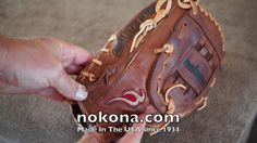 In a place called Nocona, Texas premium ball gloves have been designed and handcrafted since 1934. For generations, the people of this small town have dedicated their lives to provide the best baseball product, made right here in America, so that you can use it with great pride and confidence. http://www.nokona.com/