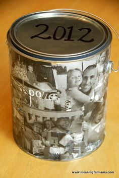 Time Capsule - Great new year tradition