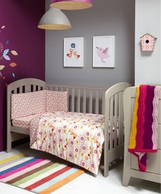 Patternology (Bird) - Cotbed Quilt - Patternology - New - Mamas & Papas