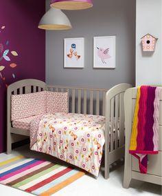 Patternology (Bird) - Cotbed Quilt - Patternology - New - Mamas & Papas #mamasandpapas #dreamnursery