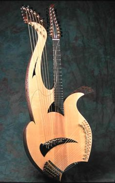 An amazing instrument from luthier, Fred Carlson