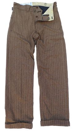 MFSC pantalon Apache, inspired by turn of the century to 1930′s French tailor-made gent garb.
