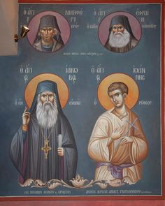 Married With Children, Byzantine Icons, Orthodox Christianity, Art Icon, Orthodox Icons, Fresco, Saints, Projects To Try, Icons
