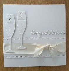 Focus on Papercraft: Congratulations - an engagement card
