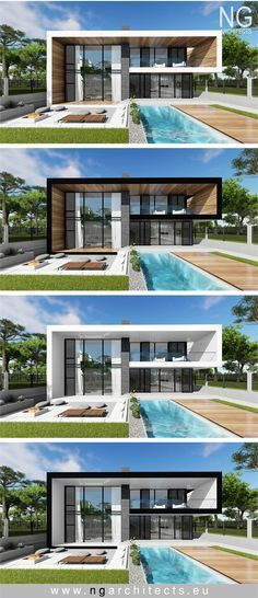 It is not always easy to chose color scheme for facade if you like all the options. But sometimes you just feel from the first look www.ngarchitects.eu