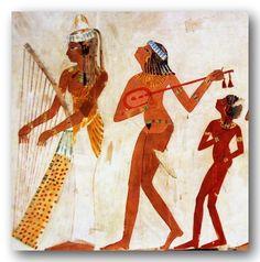 thingswoolike:  The Metropolitan Museum of Art, New YorkFacsimile-series of ancient Egyptian tomb paintings(byHans Ollermann)