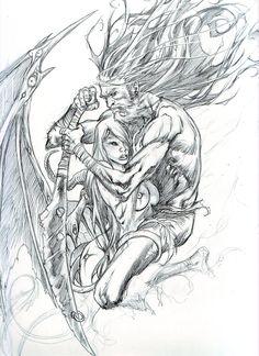 Poison Heart sketch by Adrianohq.deviantart.com on @deviantART
