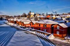 Porvoo by Juha Roisko on Helsinki, Alaska, Christmas Town, Bucket List Destinations, New City, 14th Century, Homeland, Beautiful Landscapes, Cruise