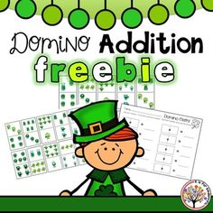 FREE! This is a fun way to help your kids with counting, writing, and adding two numbers together.  Students simply choose a domino, count, write the numbers, and add them together!  Includes: 30 domino pieces and1 recording sheet!