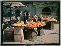 Autochromes by Karel Šmirous, Prague, 1910
