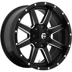 17x10 Black Wheel Fuel Maverick D538 5x5 5x5 5 24   eBay